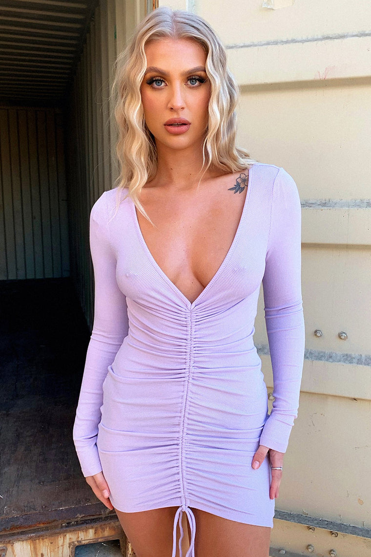 Riley Dress - Lilac