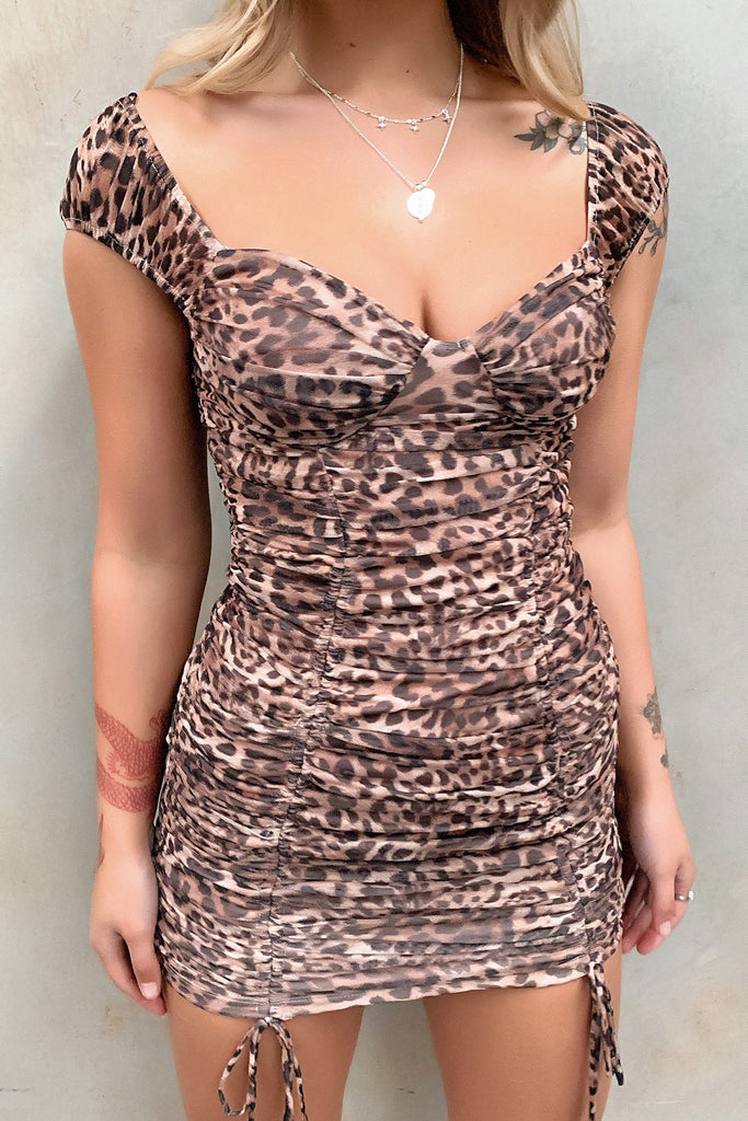 Finn Dress - Leopard