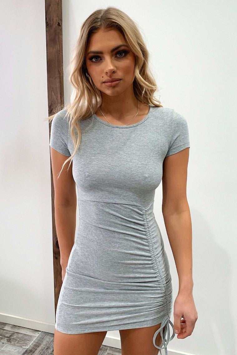 Riya Dress - Grey