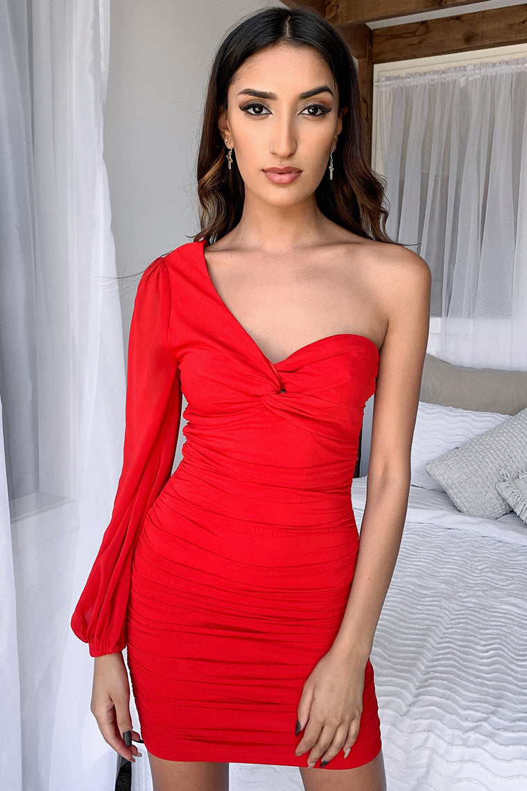 Kaden Dress - Red