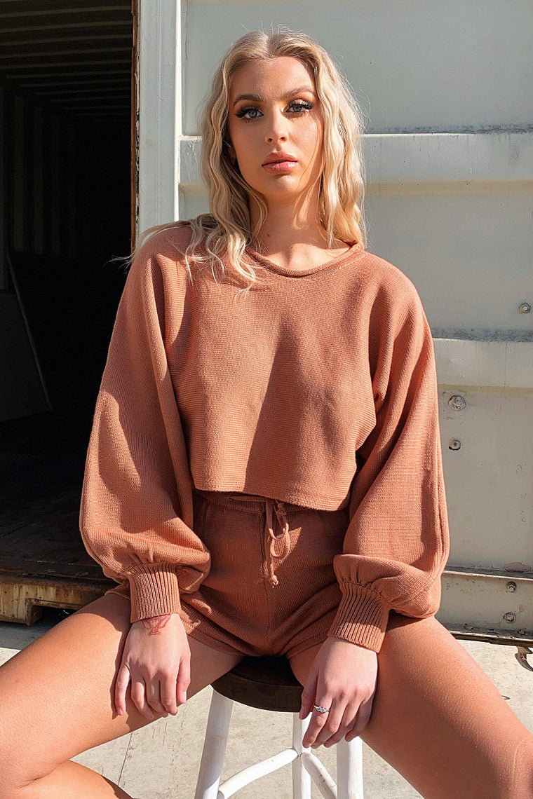 Kennedy Jumper - Brown