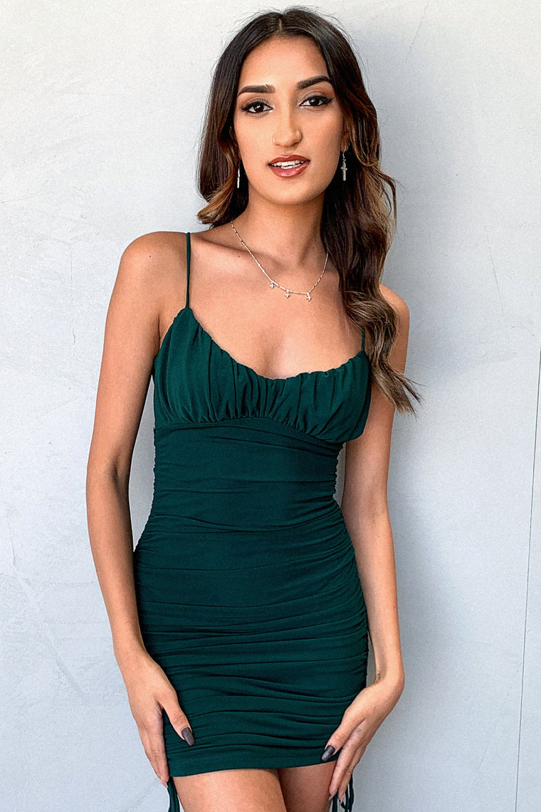 Kia Dress - Emerald
