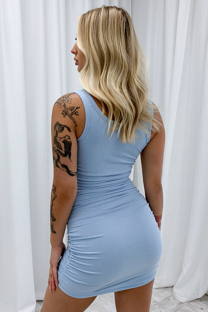 Lara Dress - Blue