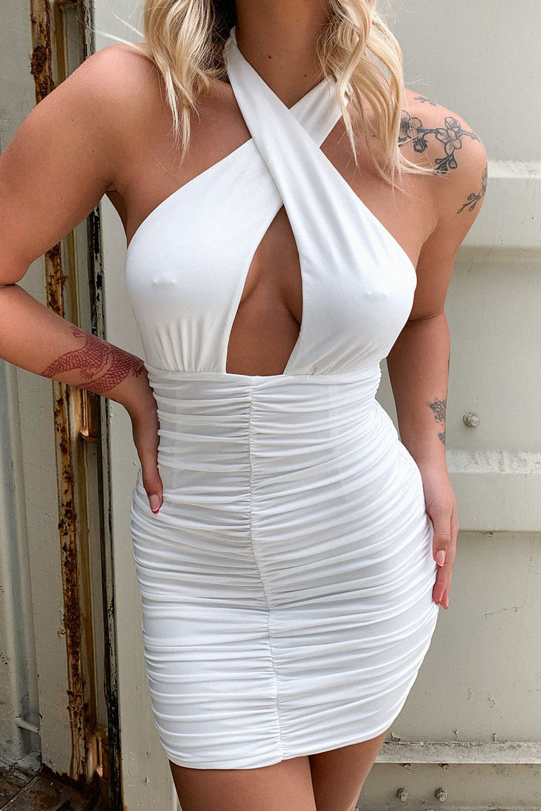 Larisa Dress - White