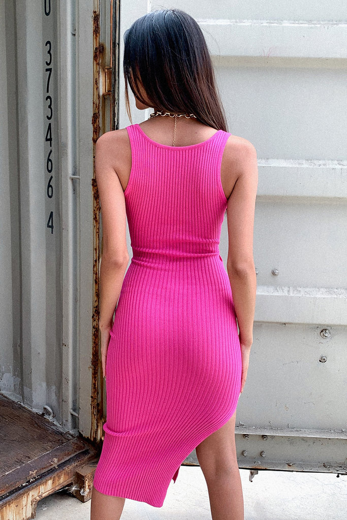 Lucifer Dress - Hot Pink