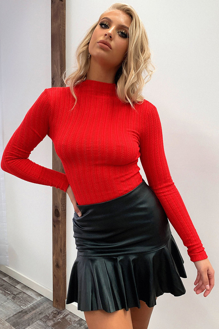 Saidie Knit - Red