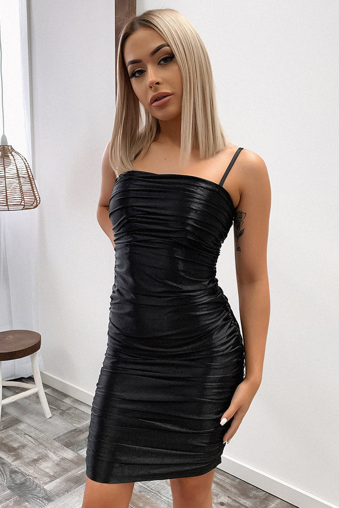 Bishop Dress - Black