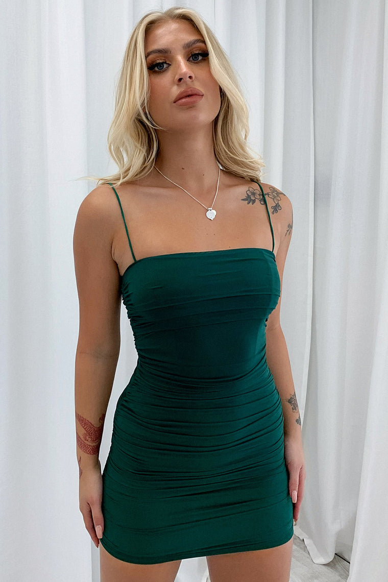 Mollex Dress - Emerald
