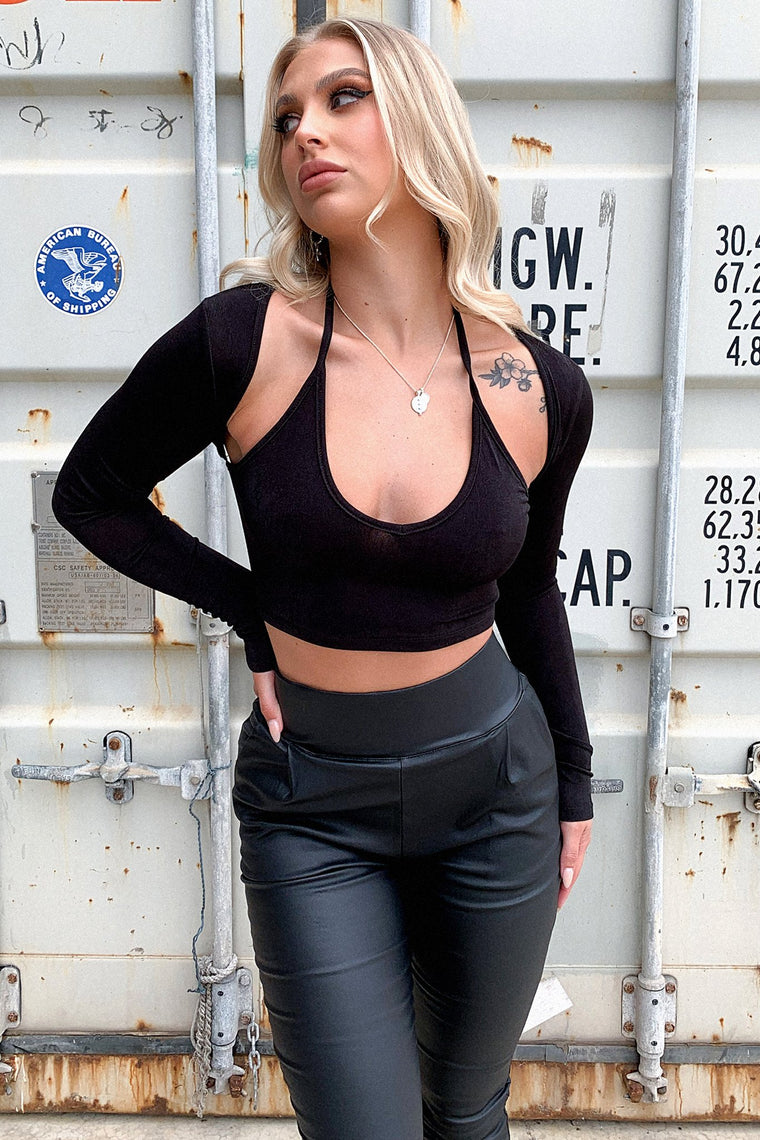 Safari Crop - Black
