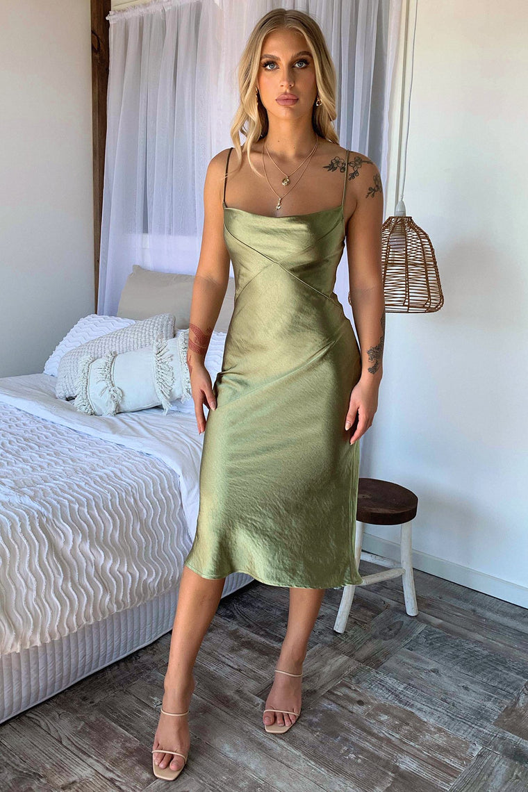 Shanae Dress - Green