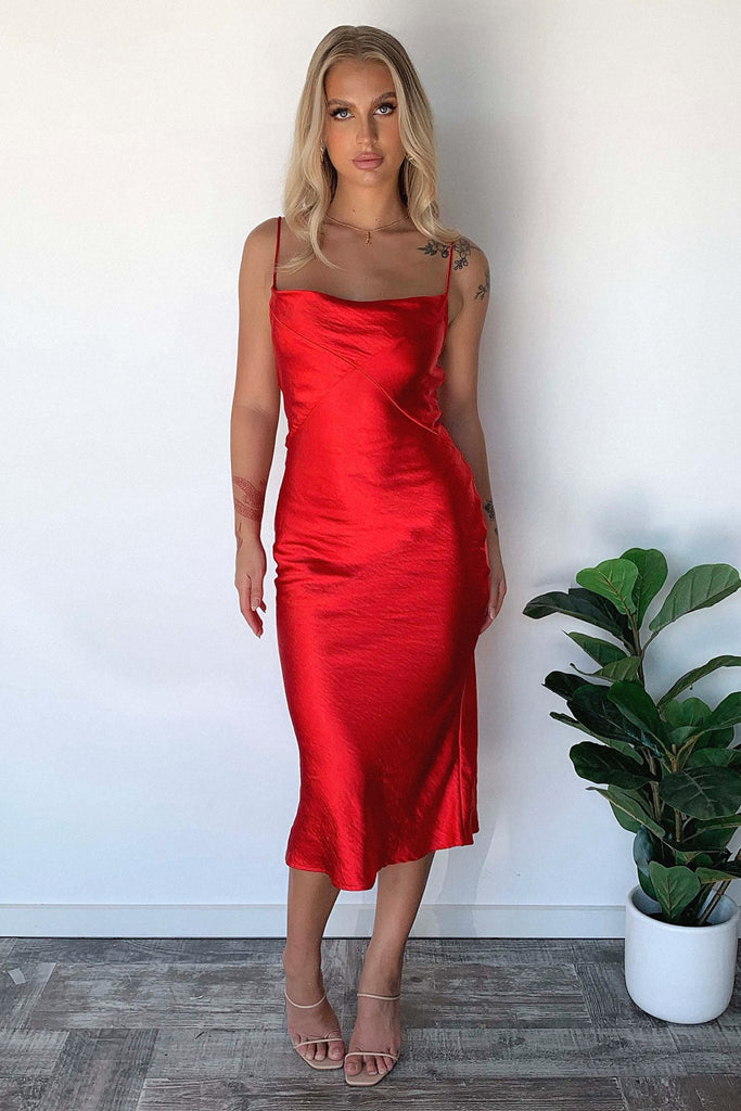 Shanae Dress - Red