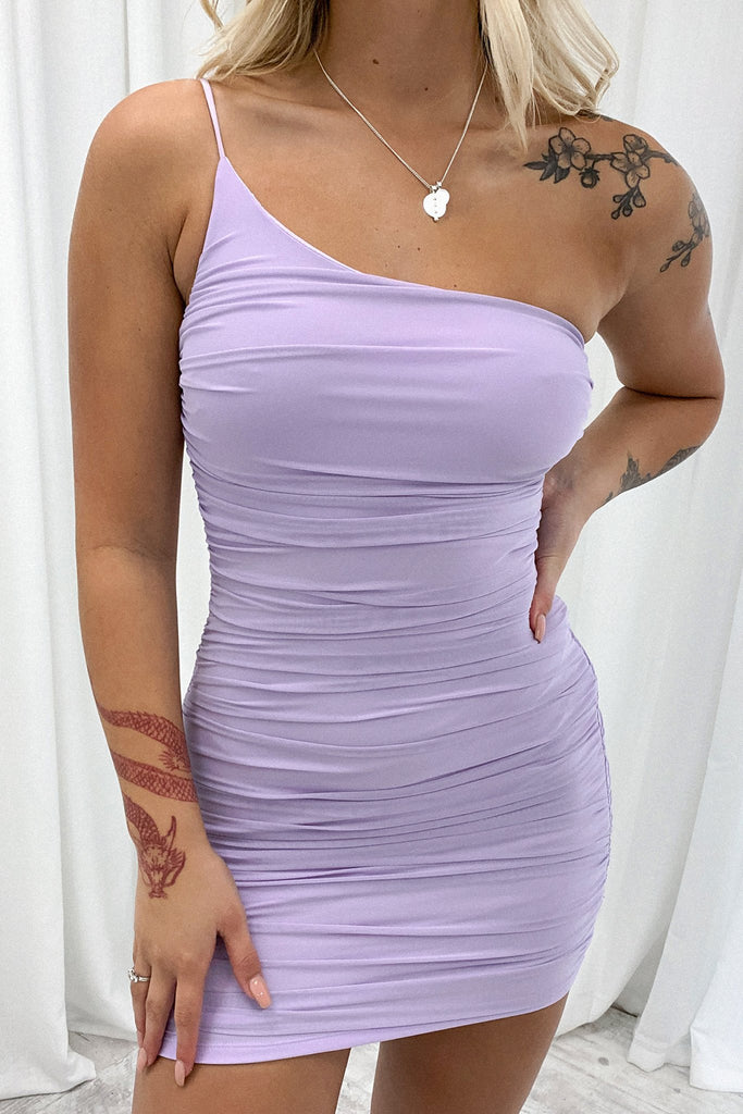 Shay Dress - Purple