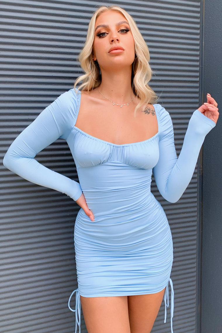Tinley Dress - Blue