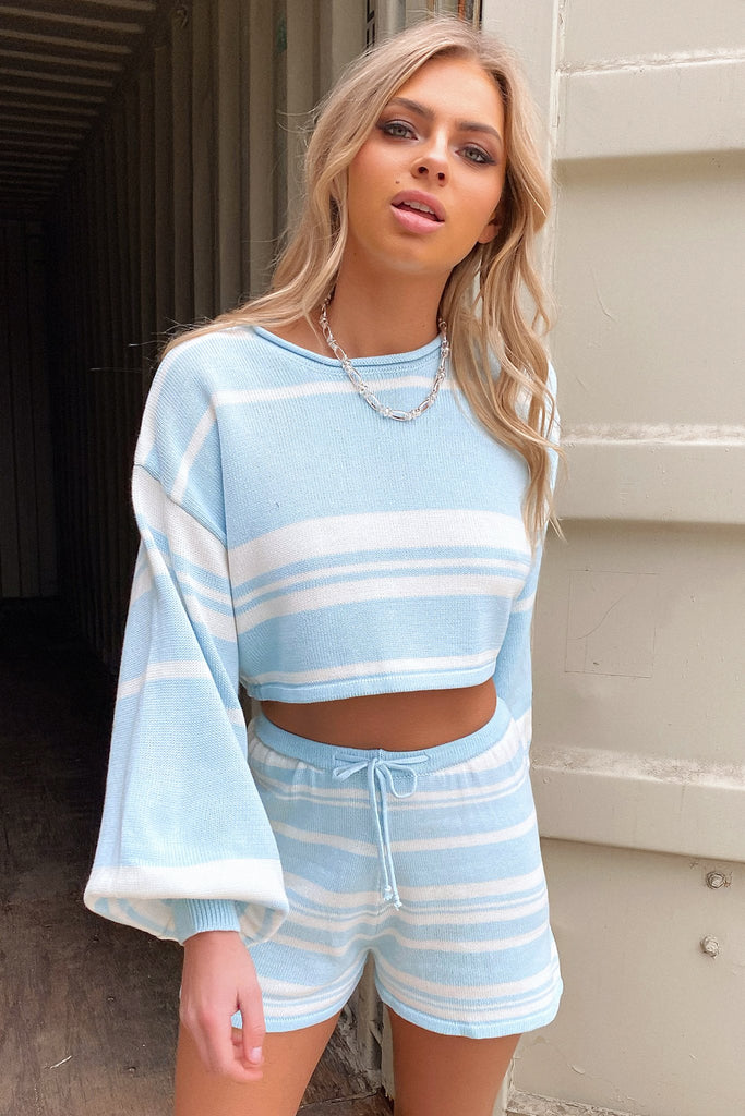 Kennedy Jumper - Blue Stripe