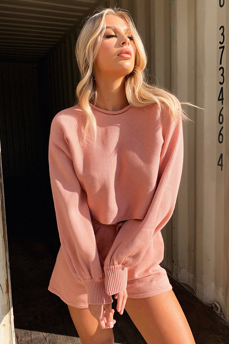 Kennedy Jumper - Blush