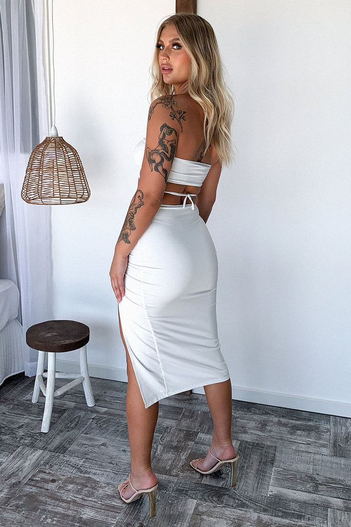 Vegas Skirt - White