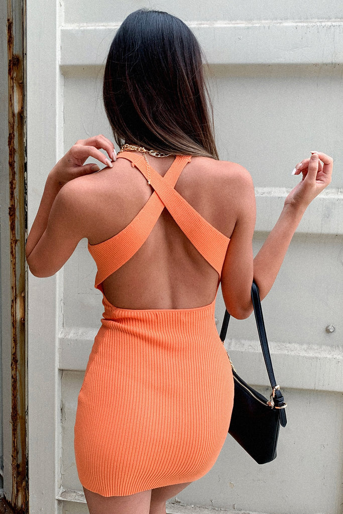 Victorious Dress - Orange