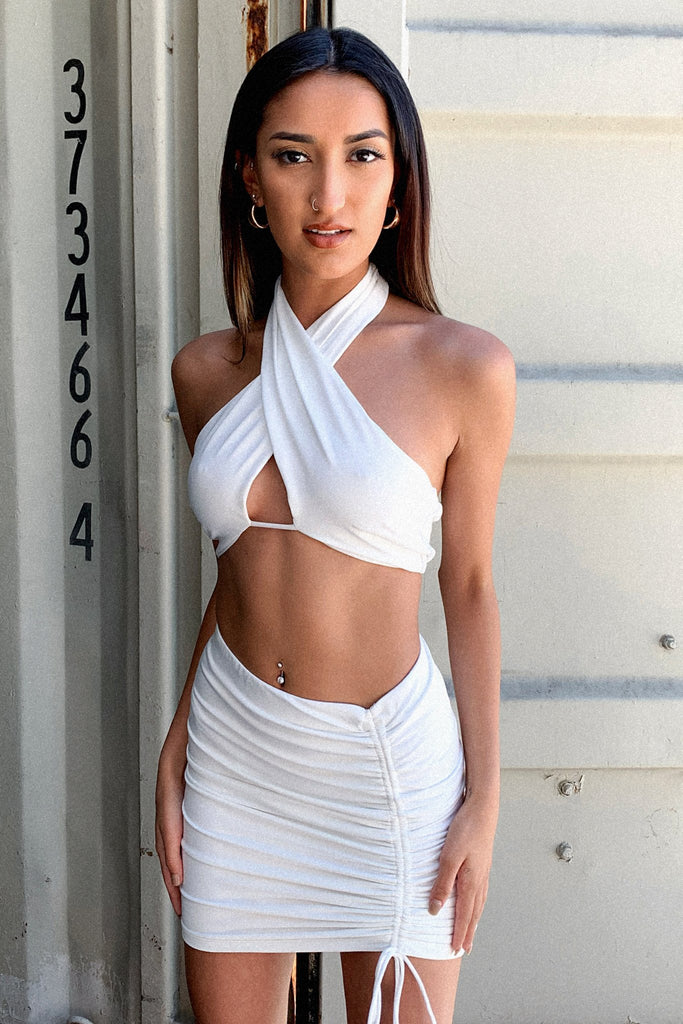 Xavier Skirt - White