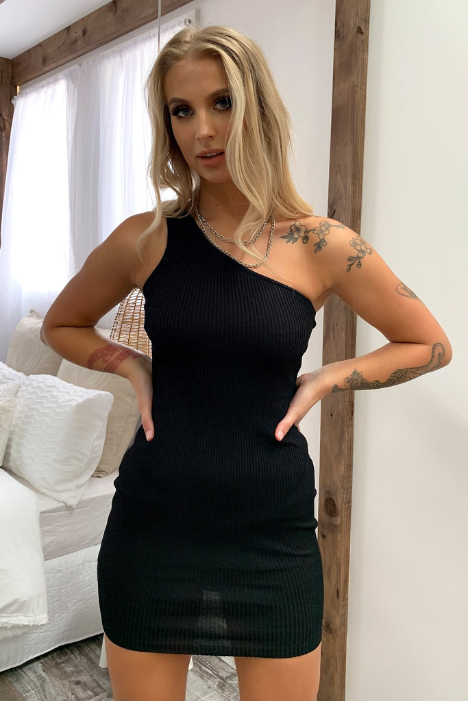 Stormi Dress - Black