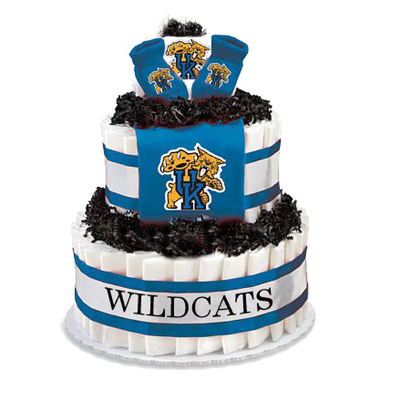 Kentucky Wildcats Collegiate Diaper Cake