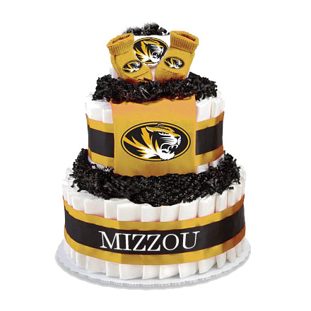 Missouri Collegiate Diaper Cake