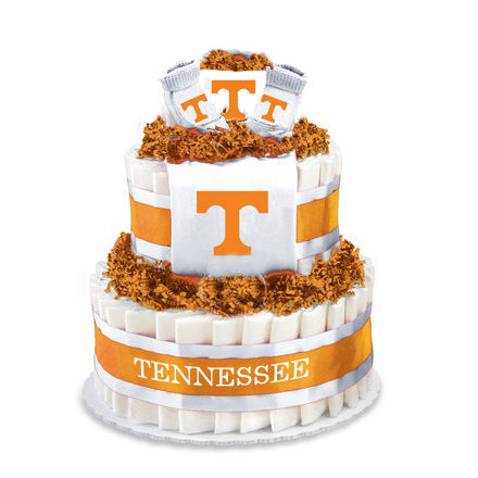 Tennessee Collegiate Diaper Cake