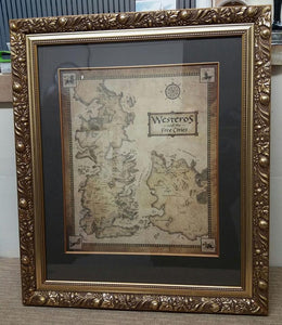 Maps & Prints Framed