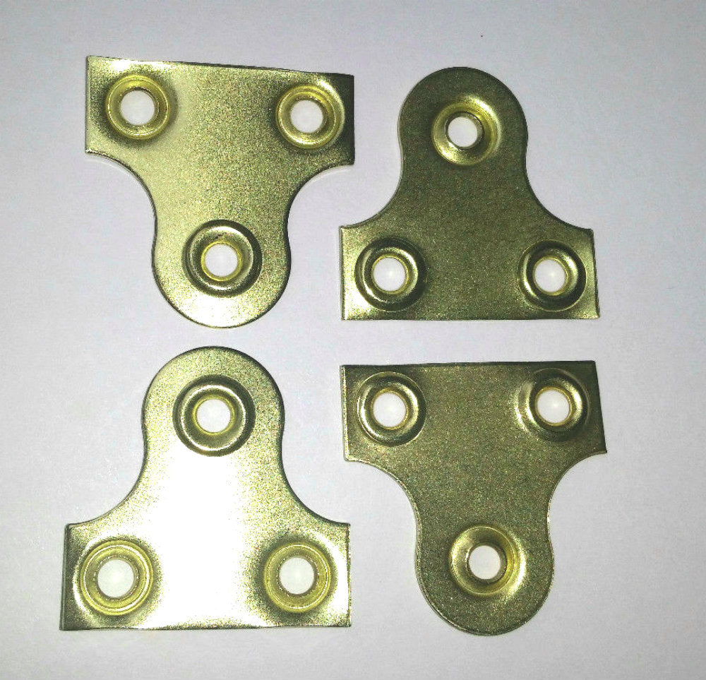 38mm Brass Picture Plates