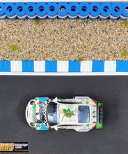 Laden Sie das Bild in den Galerie-Viewer, Diarama Curbs Curb Kerbs und Reifenstapel blau weiss - Alternative zu carrera 21130 carrera digital