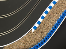 Load image into Gallery viewer, RAS Tire Wall - Tyre Wall - Tire Stack - BLUE-WHITE - 25 cm for racetracks 1/32 - 1/24 scale - NEW