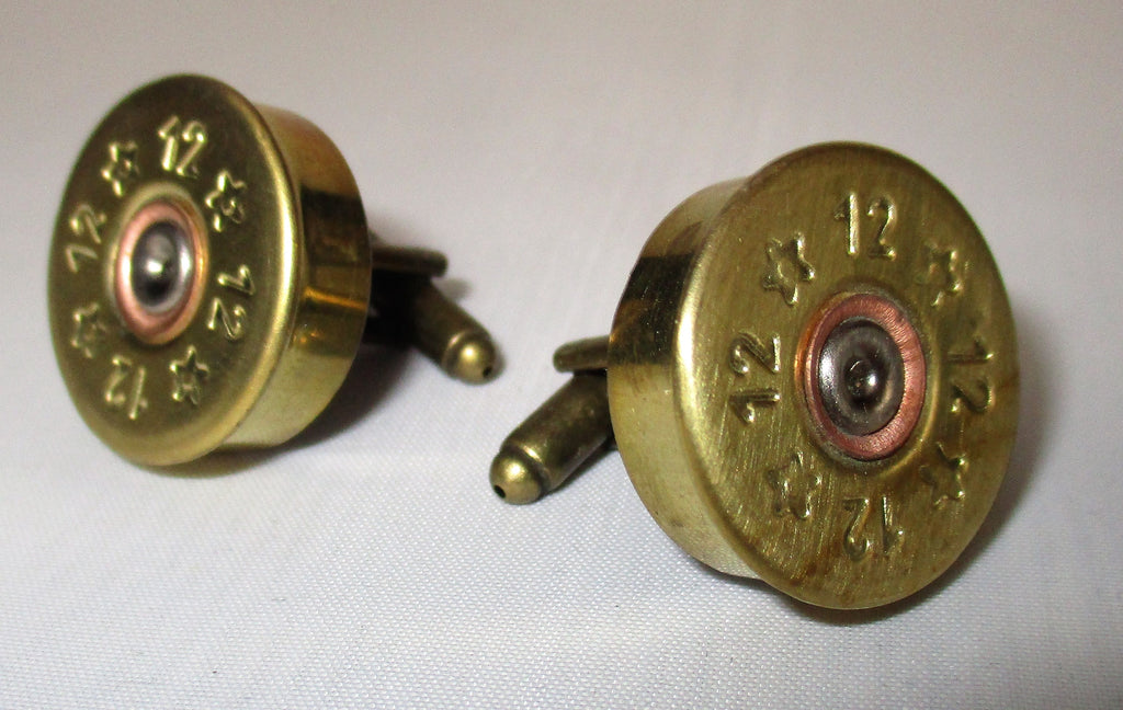 Cartridge Cap Cufflinks