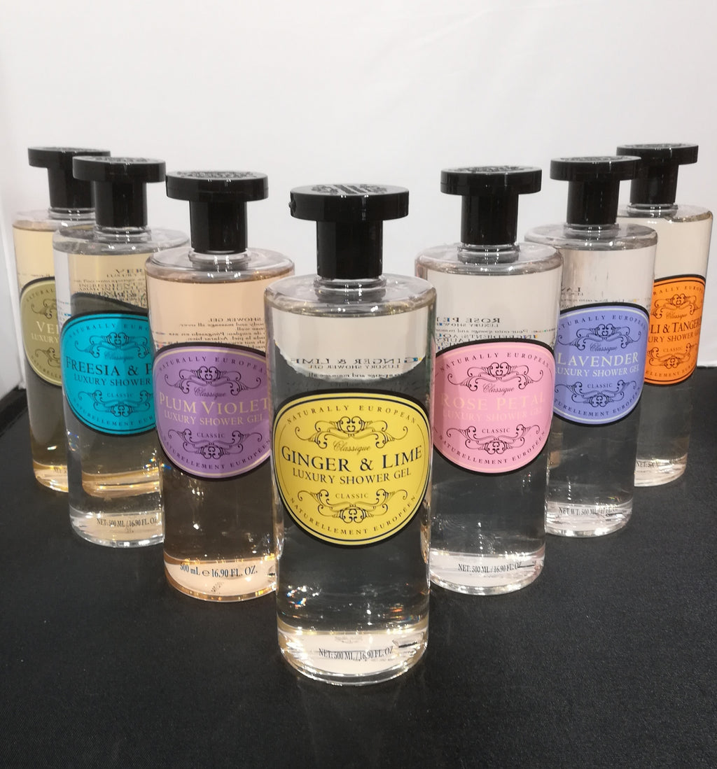 Naturally European Shower Gels