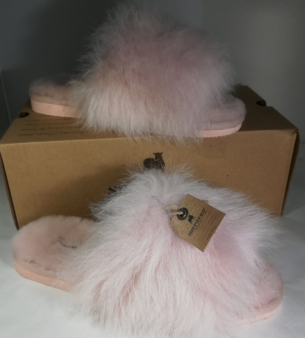 Slippers: 'Tessan' Pink