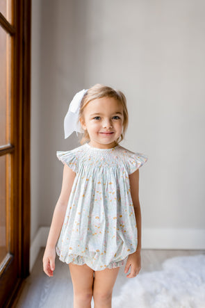 Lily Flora Geo Smocked Bubble