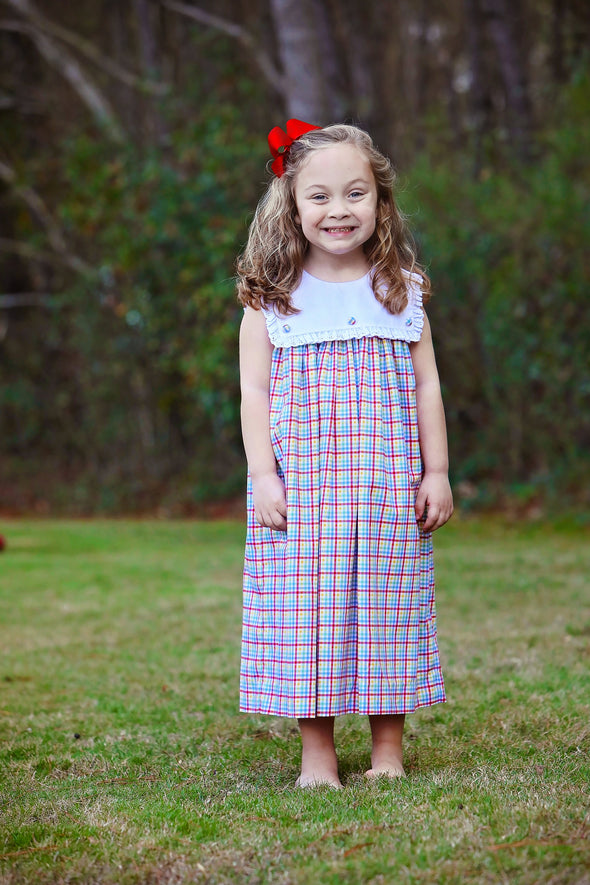 Rainbow Bib Dress