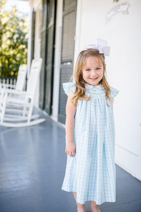 Sage Sailboat Dress