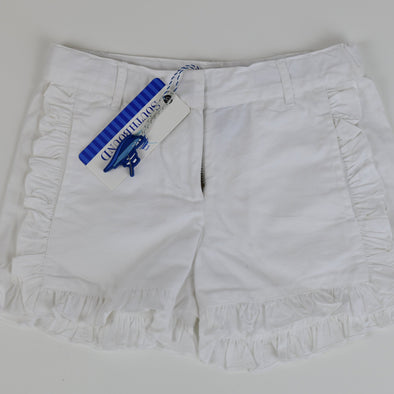 Polly Play White Ruffle Shorts