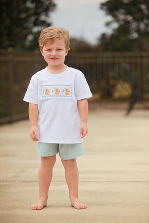 Fishing Puppy Boys Tee Set