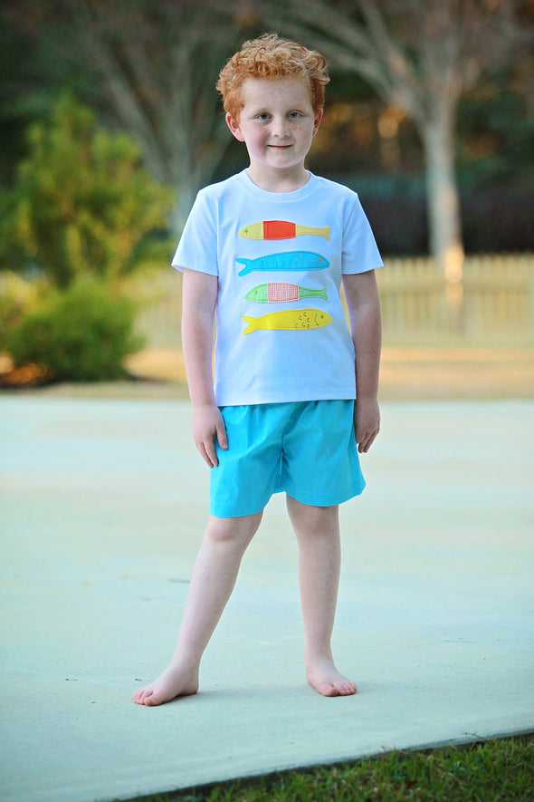 4 Fish App Boys Tee Set