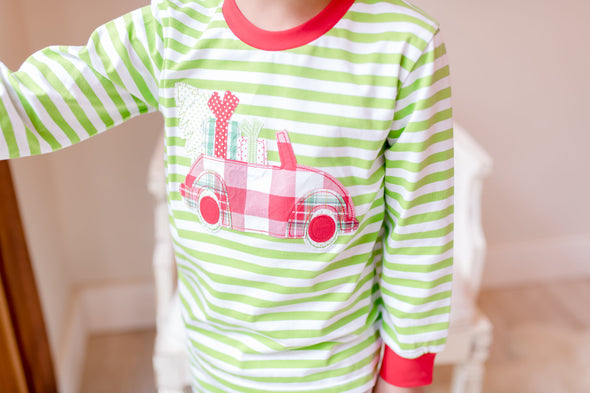 Christmas Car Unisex Morning Set