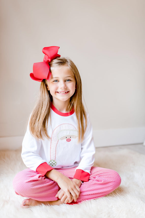 Christmas Morning Santa Girl Set
