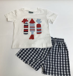 Firework Boys Tee Set