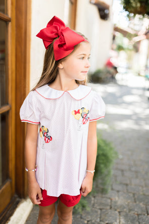 Mouse Ears Girls Short Set