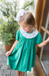 Green Cord Milly Dress
