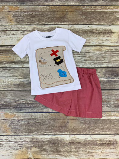 Treasure Map Short Set