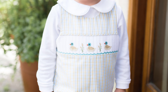 Duck Smocked Longall