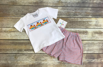 Submarine Smocked Set