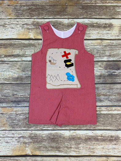 Treasure Map Shortall
