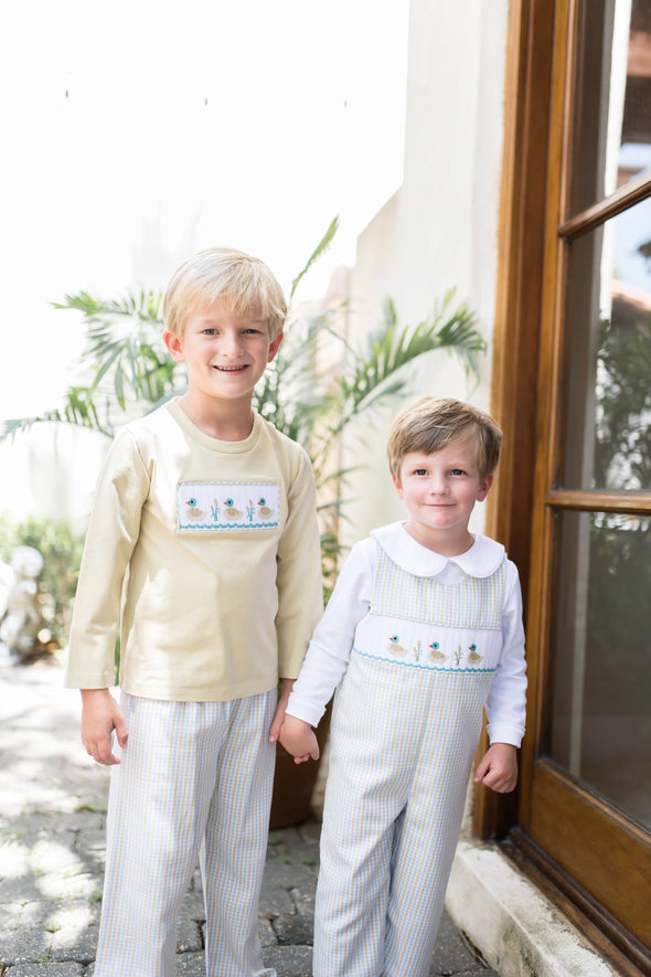Duck Smocked Pant Set