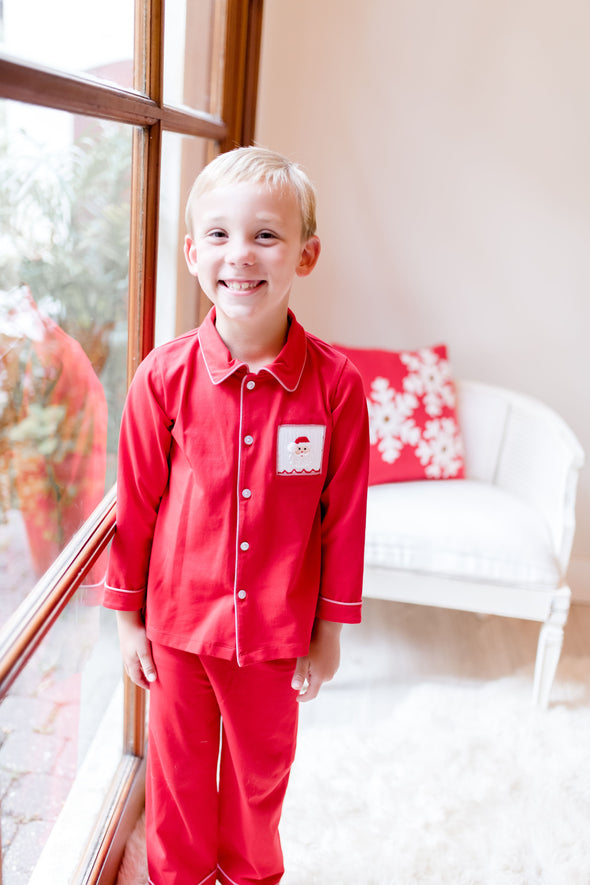 Christmas Morning Santa Boy Set